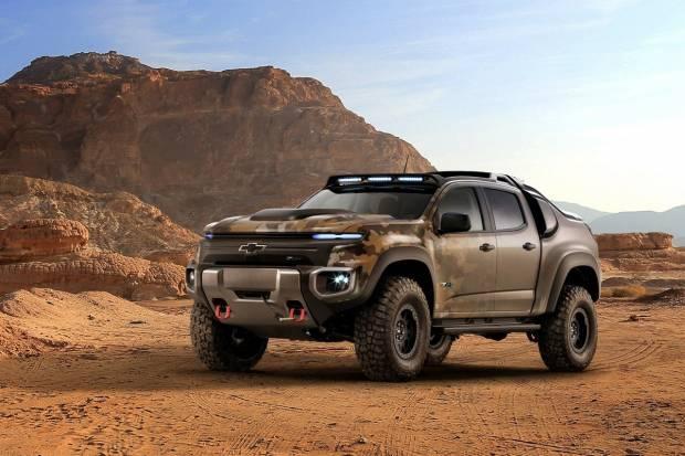 Chevrolet Colorado ZH2, el vehículo militar con pila de combustible