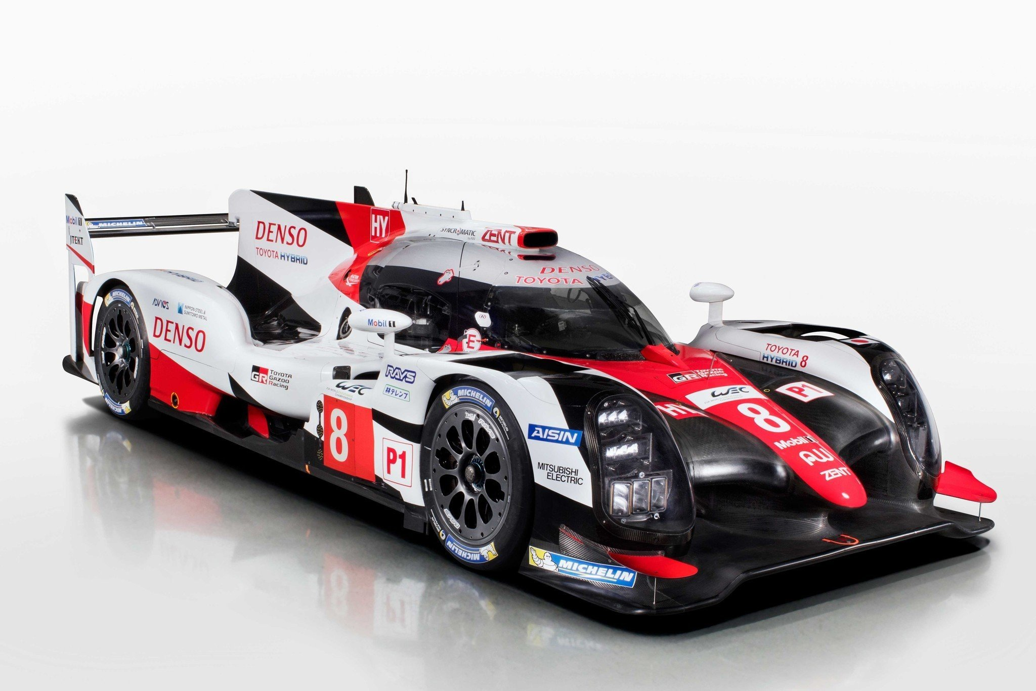 nuevo toyota ts050 hybrid para le mans. Black Bedroom Furniture Sets. Home Design Ideas