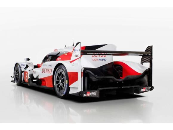 Nuevo Toyota TS050 Hybrid para Le Mans