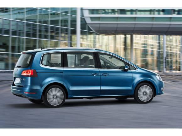 El Volkswagen Sharan se renueva ligeramente para Ginebra