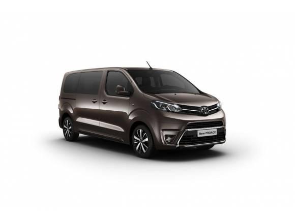 Nuevas furgonetas Toyota Proace, Peugeot Traveller y Citroën Spacetourer