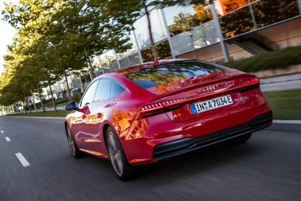 Audi A7 55 TFSI e quattro: berlina de lujo cero emisiones
