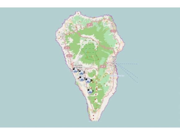 Consejos e indicaciones de la DGT para la evacuación de La Palma por el volcán