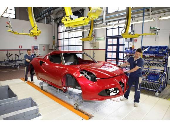 Alfa Romeo 4C: algunas curiosidades sobre su producción