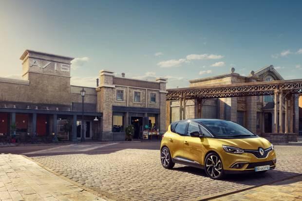 Primeras imágenes del Renault Scenic 2016