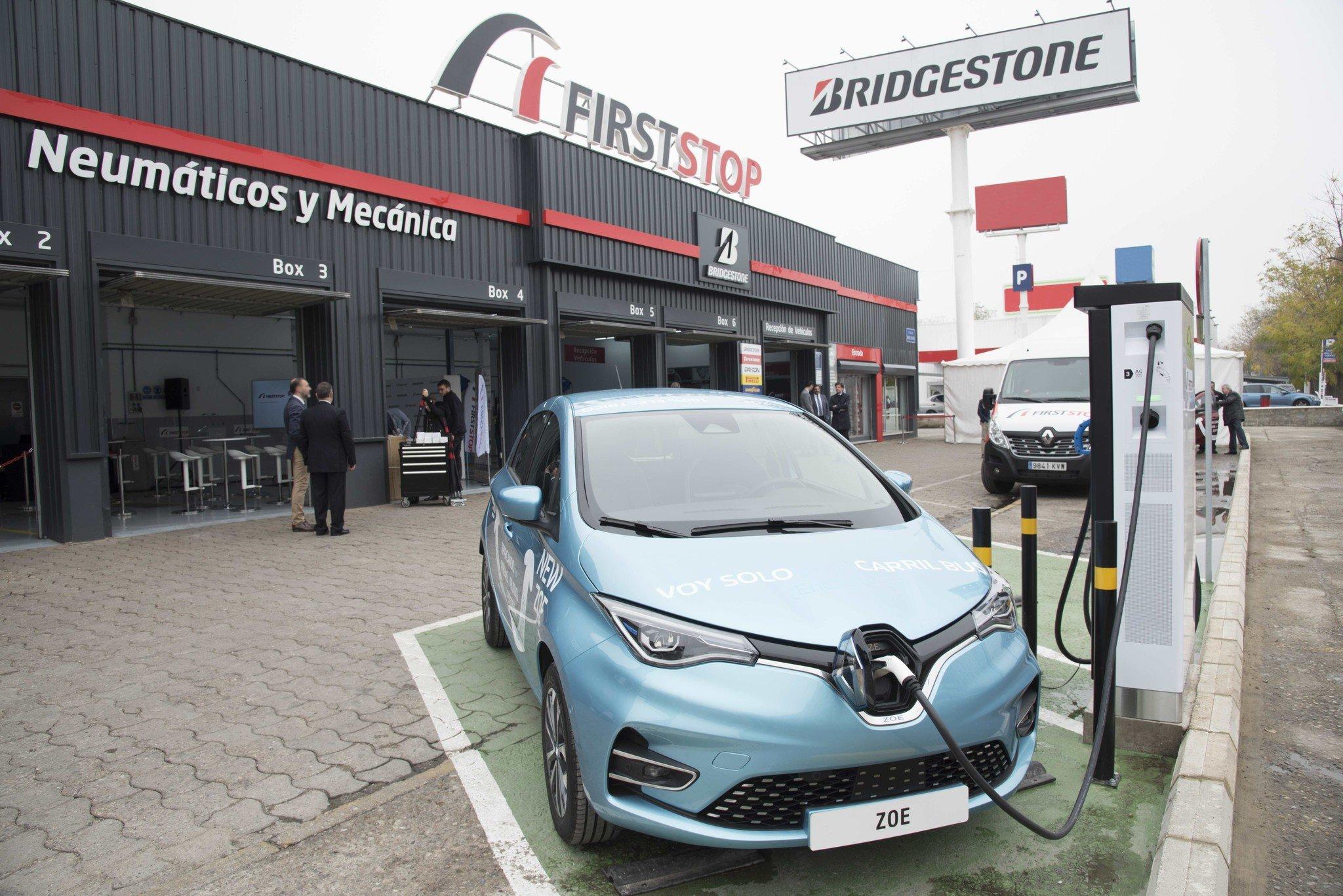 Batería en coche eléctrico