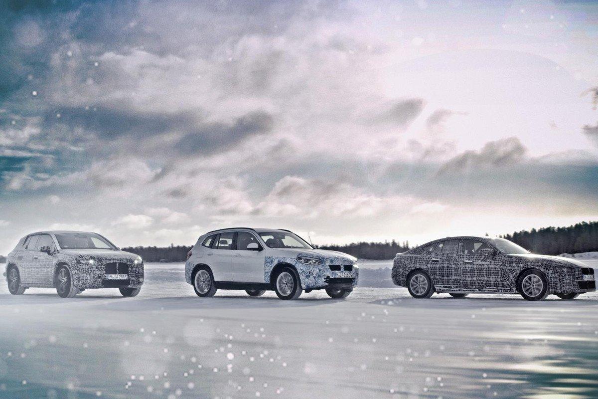 BMW iX3 i4 iNEXT