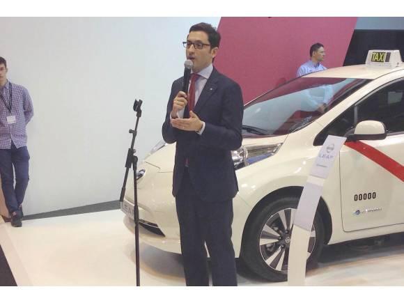 Nissan llena Madrid con 110 taxis eléctricos Nissan Leaf
