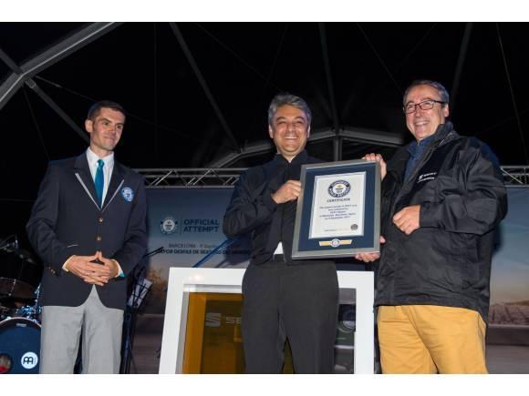 Seat bate un récord Guinness gracias al 600