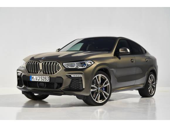 Nuevo BMW X6: nueva generación para el primero de su categoría
