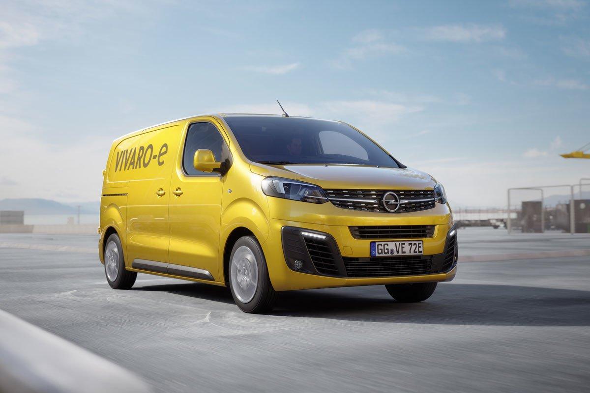 Prueba Opel Vivaro-e