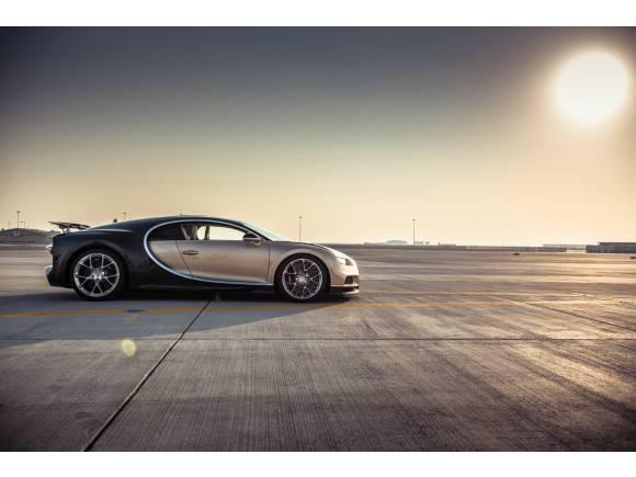 ¿Cuántos Bugatti Chiron se venden en el mundo?