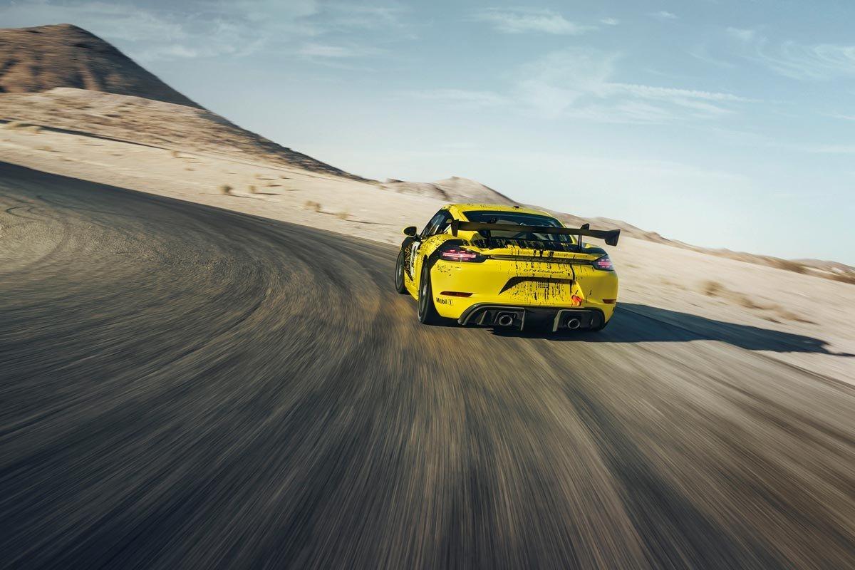 Porsche 718 GT4 Cayman Clubsport