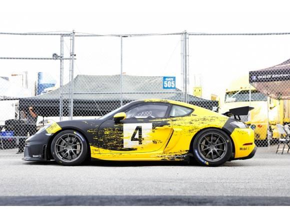 Porsche 718 GT4 Cayman Clubsport: la versión para circuitos