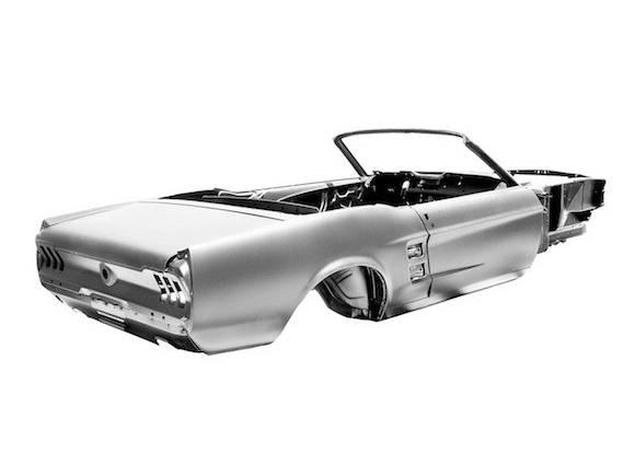 Construye tu propio Ford Mustang del 67 desde cero