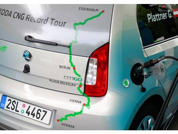 Gerhard Plattner recorrerá 2.700 kilómetros con 100 euros en un Skoda Citigo