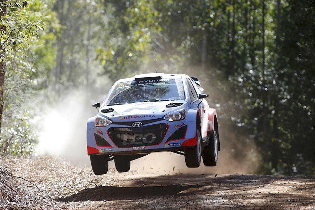 Hyundai i20 Coupe WRC 2018