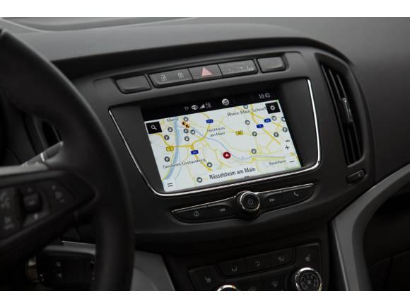 Opel Zafira: ahora disponible con el IntelliLink Navi 4.0
