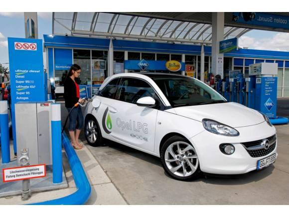 Gama GLP Opel: Opel Adam, Corsa y Mokka X