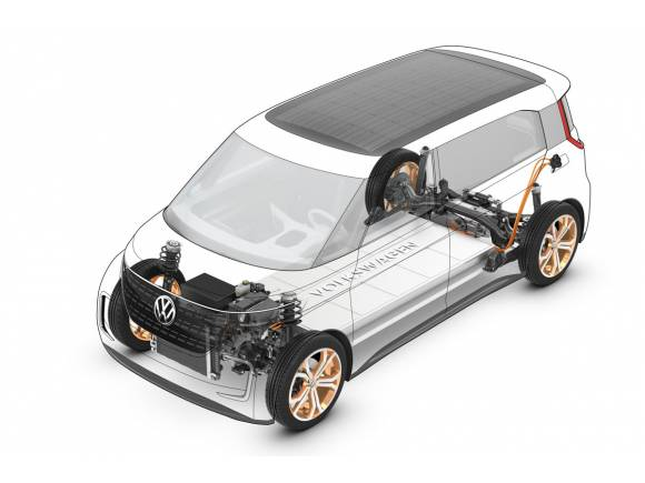 Nuevo Volkswagen BUDD-e, la novedad del CES 2016