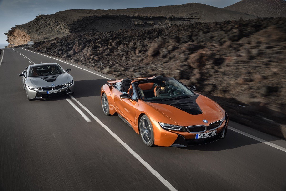 BMW i8 Coupe y Roadster