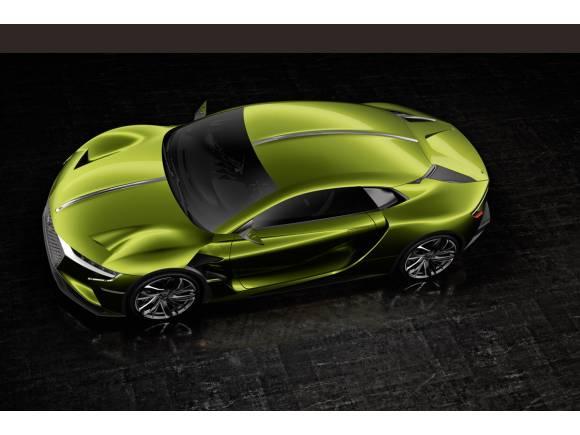 DS E-Tense, el coupé eléctrico