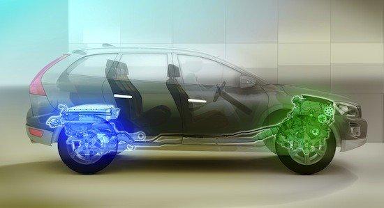 Es enchufable y en sus baterías cabe suficiente carga para realizar 45 km 100% eléctrico.