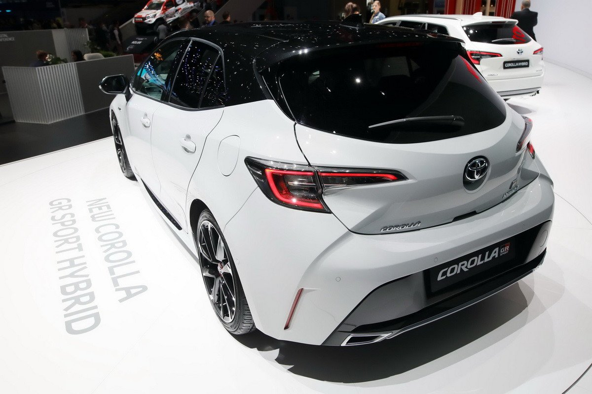 Toyota Corolla GR Sport y Trek