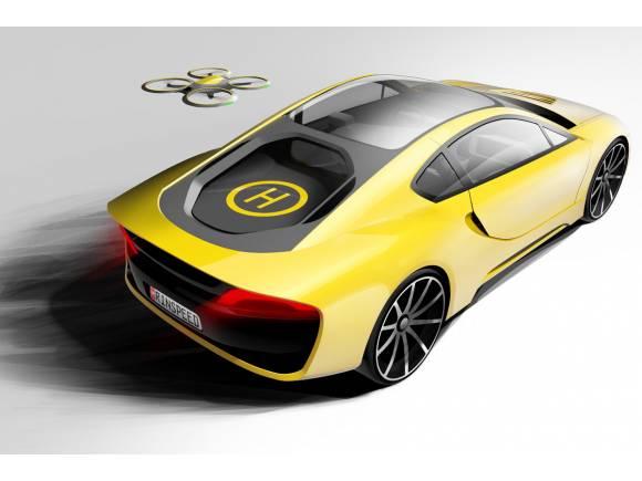 Rinspeed Etos, el deportivo con dron incorporado