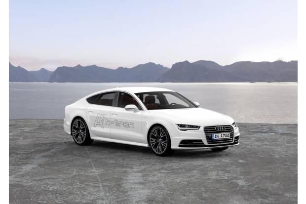 Audi A7 Sportback h-tron: al volante del Audi que funciona con hidrógeno