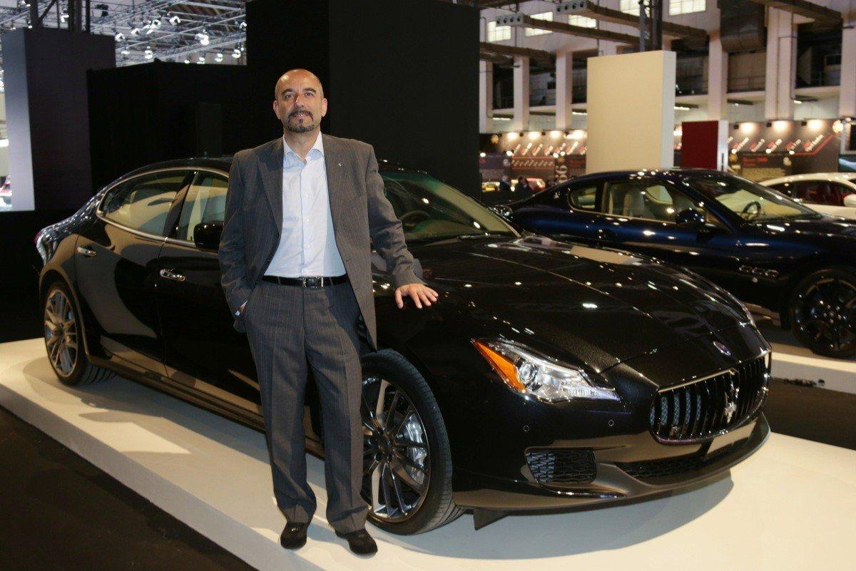 Maserati Quattroporte 2013 - Ivan Capelli