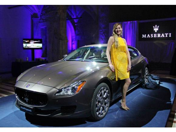 Maserati Quattroporte en el Salón de Barcelona 2013