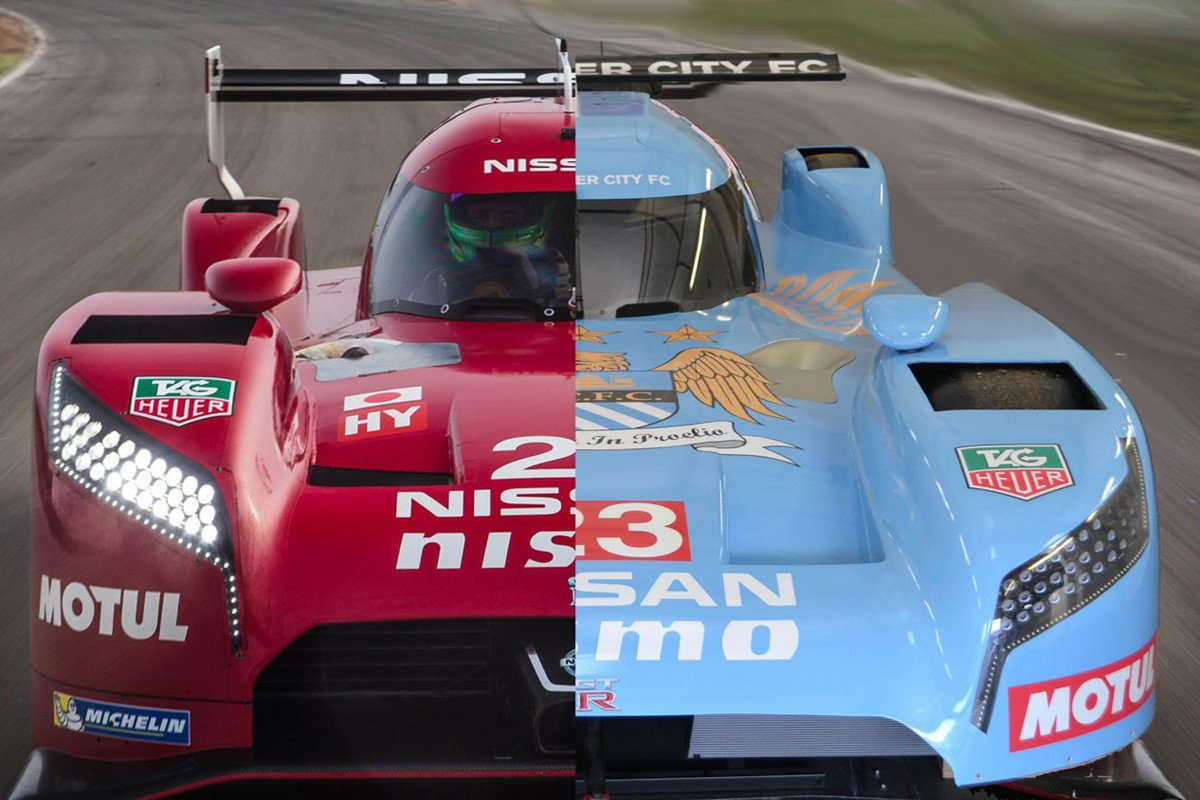 Nissan GT-R LM Nismo Manchester City
