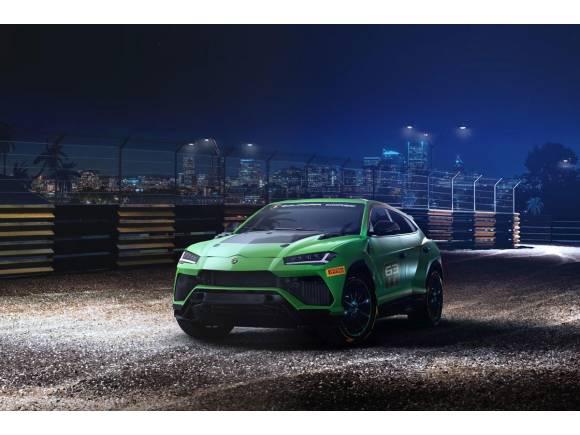Lamborghini Urus ST-X, un SUV de competición