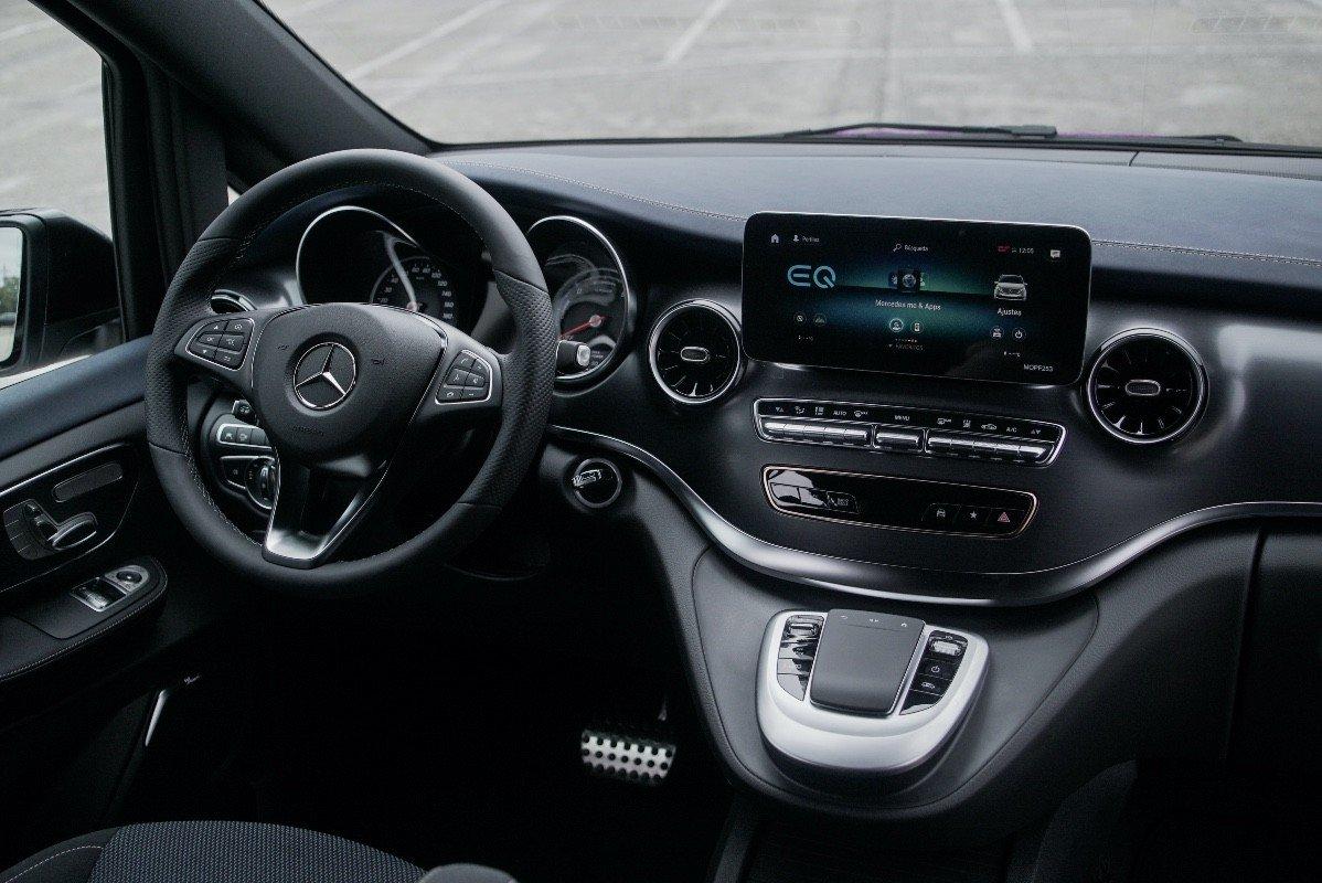 Prueba Mercedes EQV