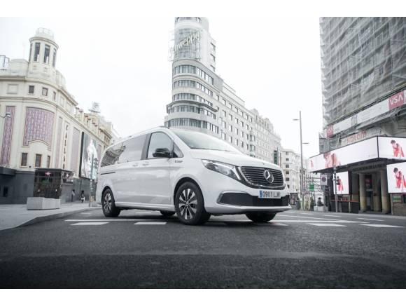 Prueba Mercedes EQV 300: el monovolumen 100% eléctrico fabricado en Vitoria
