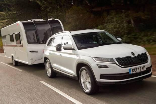 Los mejores coches para remolcar una caravana