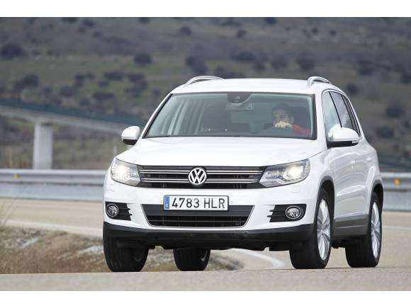 Nuevos motores y equipamientos para el Volkswagen Tiguan