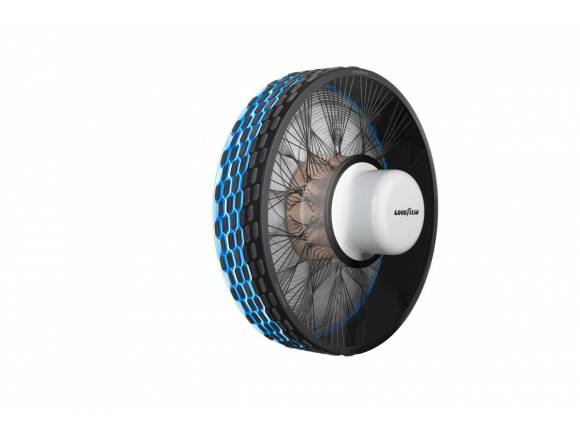 Goodyear reCharge: el neumático personalizable y que podrás reparar en casa