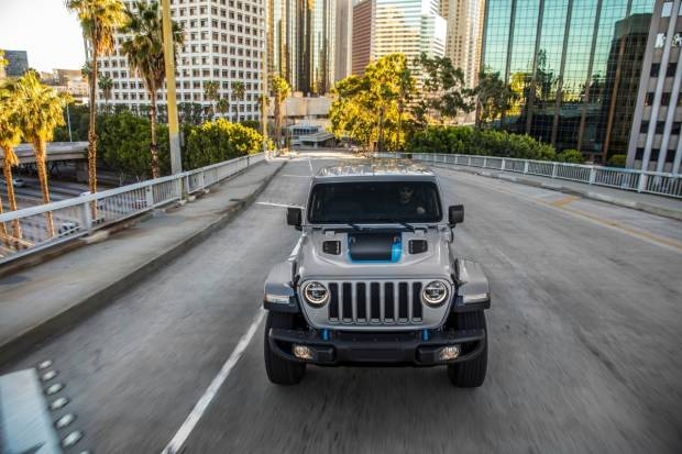 Jeep Wrangler 4xe First Edition: offroad sostenible ya reservable
