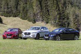 Prueba: gama Jaguar AWD de tracción total