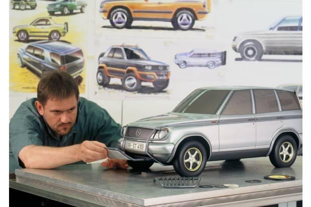 20 años de SUV de Mercedes