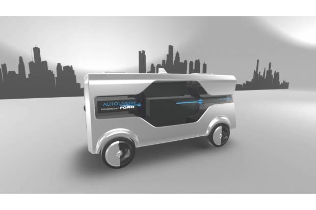 Ford Autolibery: mitad furgoneta, mitad dron