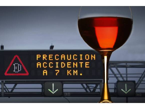 Drogas, alcohol y conducción, peligro mortal