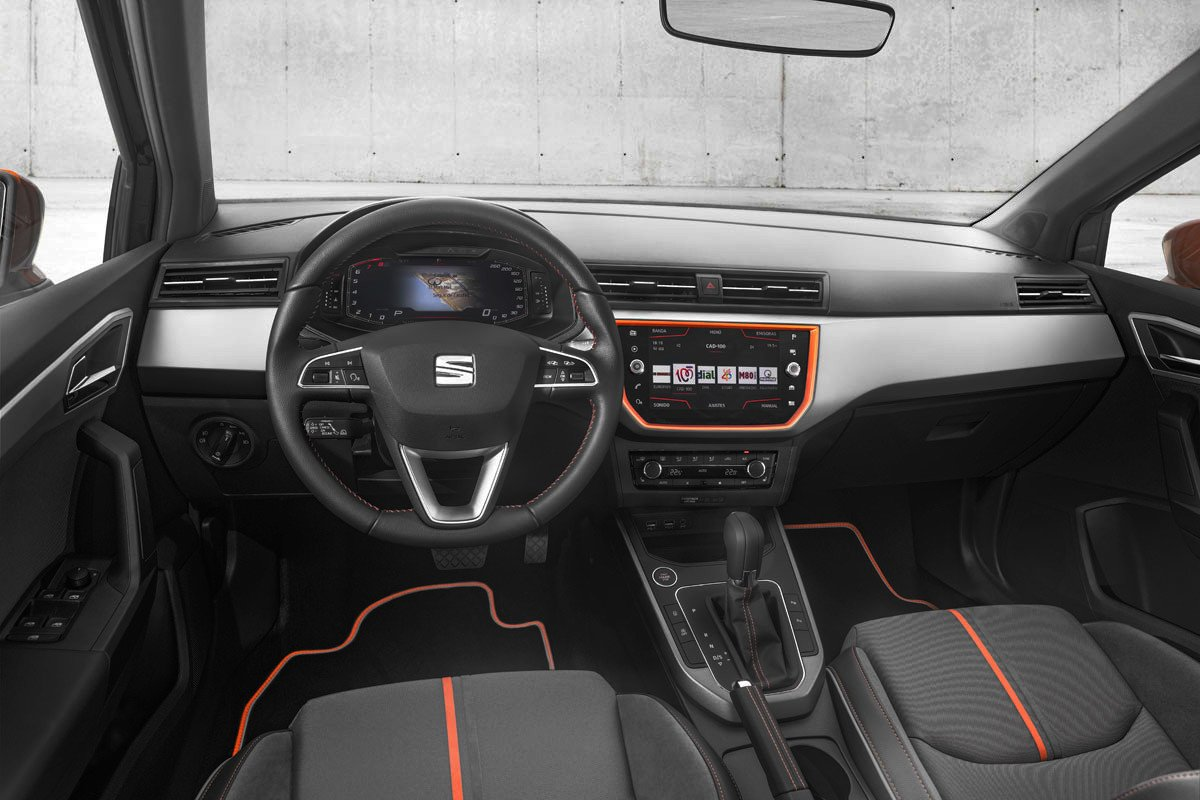 Seat Digital Cockpit Ibiza Arona