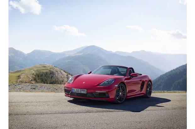 Porsche 718 GTS: más potencia para los Boxster y Cayman