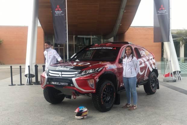 Así es el Mitsubishi Eclipse Cross de Cristina Gutiérrez para el Dakar 2020