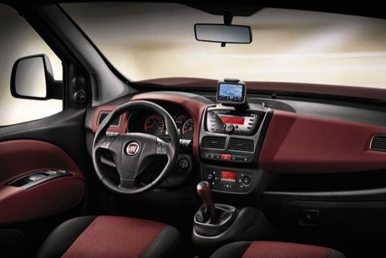 Interior de Fiat Dobló