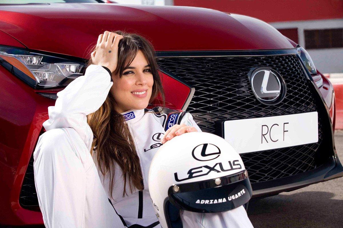 Adriana Ugarte Lexus RC F