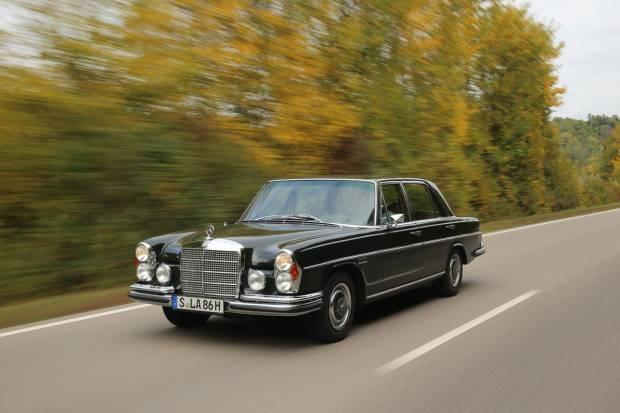 Pagan por un Mercedes 300 SEL de la Casa Real 19.000 euros
